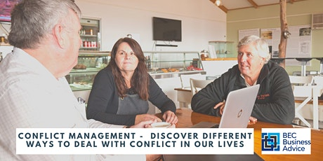 Conflict Management -  Different ways to deal with conflict in our lives tickets