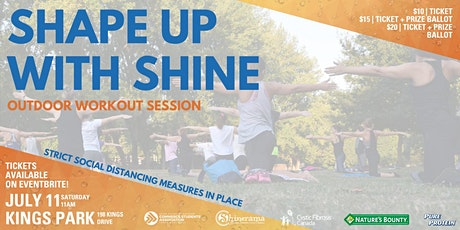 Shape Up with Shine tickets