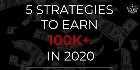 5 Strategies to Earn 100K+ in 2020 tickets