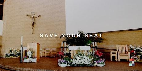 JULY 12 SUNDAY 1015AM MASS (CHURCH) tickets