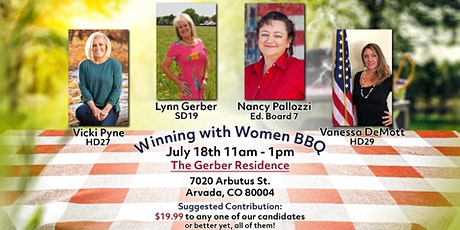 Winning with Women BBQ tickets