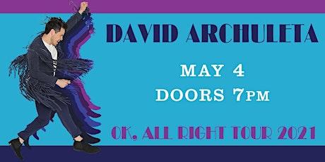David Archuleta tickets