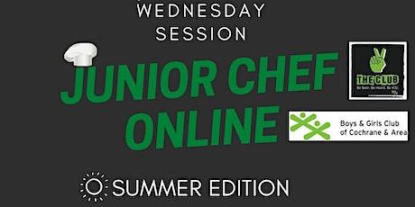 Junior Chef WEDNESDAY classes tickets