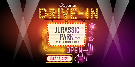 OC Parks Drive-In: Jurassic Park tickets