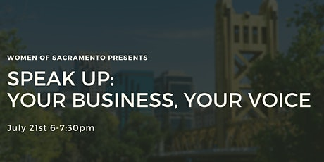 Speak Up: Your Business, Your Voice tickets