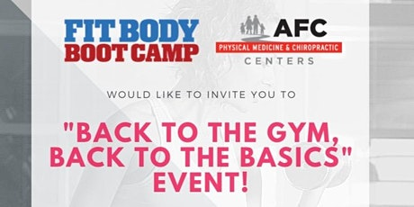 Form & Function: AFC & Fit Body Boot Camp tickets