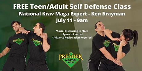 FREE Adult/Teen Self Defense Class With National Expert tickets