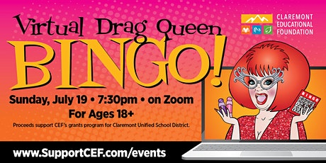 Virtual Drag Queen Bingo - Bingo, Burgers and Beers! tickets