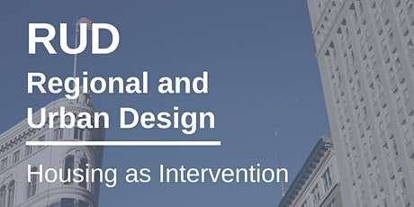 Housing as Intervention tickets