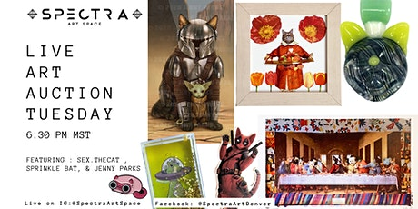 Live Art Auction | And Meow This V.1 tickets