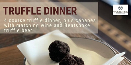 4 Course Truffle Dinner tickets