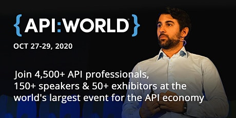 API World 2020 tickets