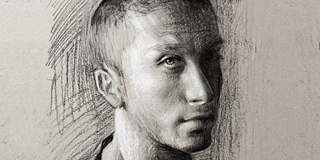 Learn to Draw a Luminous Chalk and Charcoal Portrait (Online) tickets