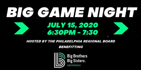 """The """"BIG"""" Game Night tickets"""
