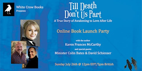 """Join us for an inspiring book launch of """"Till Death Don't Us Part"""" tickets"""