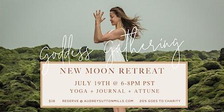 New Moon Goddess Gathering Virtual Retreat tickets