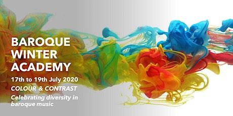 Baroque Winter Academy 2020 tickets