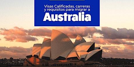 Visas calificadas, carreras y requisitos para migrar a Australia tickets