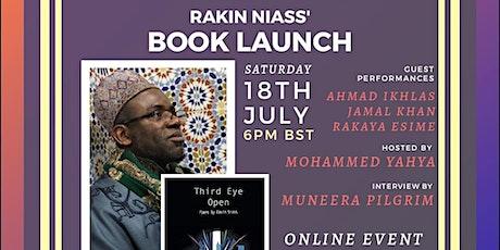 Third Eye Open Book Launch Rakin Niass tickets