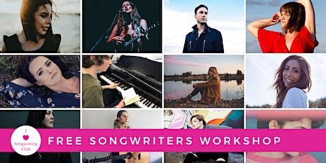 Free Songwriters Workshop - LIVE STREAM WEBINAR! tickets