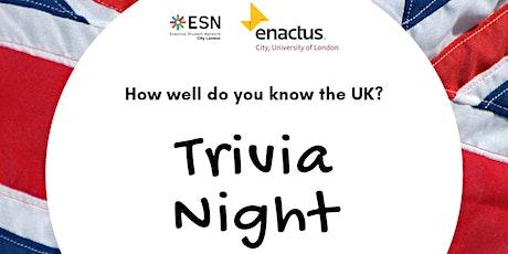 Virtual Pub Quiz by Enactus & ESN City tickets