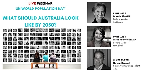 What should Australia look like by 2050? tickets