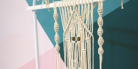 Learn how to make Macrame Mini wall hanging online workshop tickets