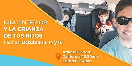 """Taller online """"El Niño Interior y la Crianza de tus Hijos"""" tickets"""
