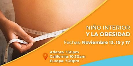 """Taller online """"El Niño Interior y la Obesidad"""" tickets"""