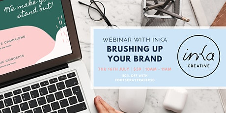 Brushing Up Your Brand Webinar tickets