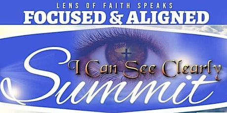 """Focused & Aligned """" I Can See Clearly"""" tickets"""