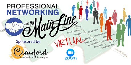 Professional Networking on the Main Line Virtual Event tickets