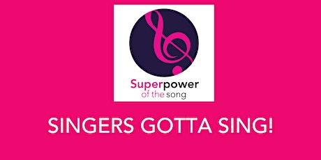 Singers Gotta Sing! Virtual Series tickets