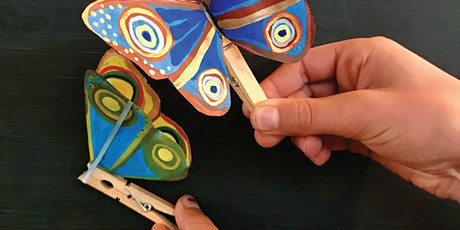 Butterfly Automata - Children's Art Workshop with artist Deb Twining tickets