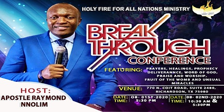 Holy Fire Breakthrough Conference tickets