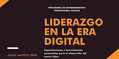 Liderazgo en la Era Digital -  Entrenamiento  practico para el líder de hoy entradas