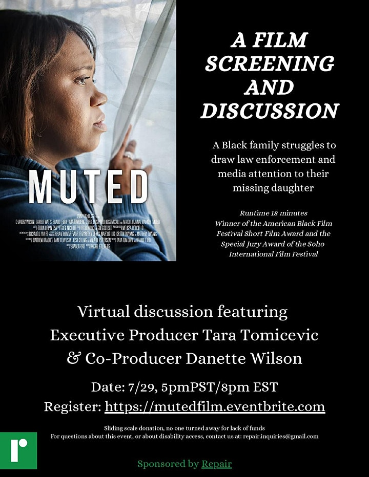 Muted: A Film Screening and Discussion image