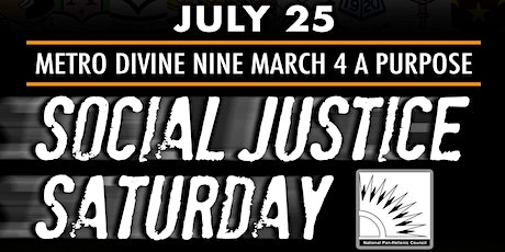 Copy of NPHC of Greater Atlanta presents Social Justice Saturday tickets
