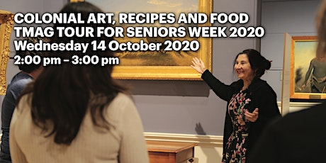 Colonial art, recipes and food tickets