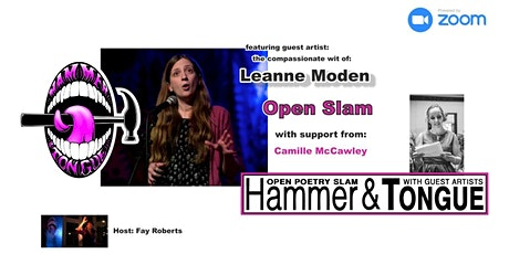 Hammer & Tongue Cambridge featuring Leanne Moden a tickets