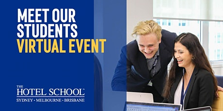 Meet our Students -The Hotel School Virtual Event tickets