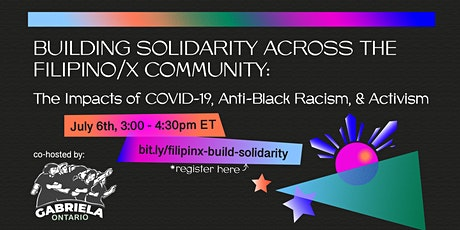 Building Solidarity Across the Filipinx Community tickets