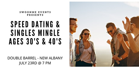 Speed Dating & Singles Mingle at Double Barrel 30's-40's tickets