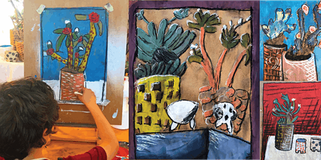 Still Life Drawing - art for kids workshop with artist Deb Twining tickets