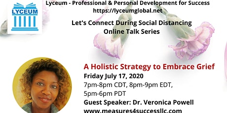 A Holistic Strategy To Embrace Grief tickets