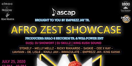 AFRO ZEST SHOWCASE tickets
