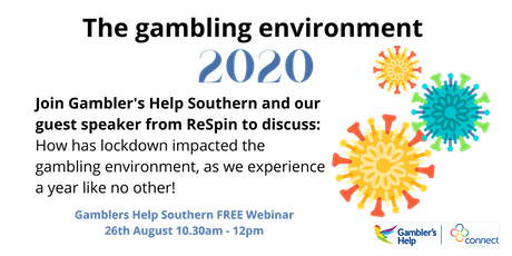 The Gambling environment 2020 tickets
