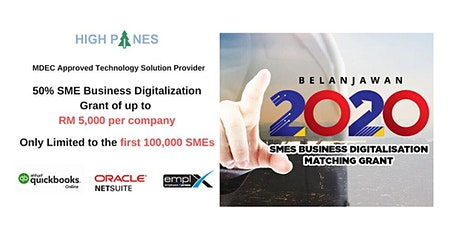 Grant for SME Business Digitalization - How to Apply for the Grant ! tickets