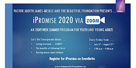 iPromise 2020 via ZOOM tickets