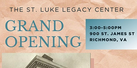St. Luke Legacy Center Grand Opening tickets